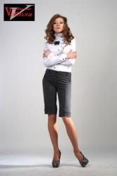 Женские молодежные брюки Капри